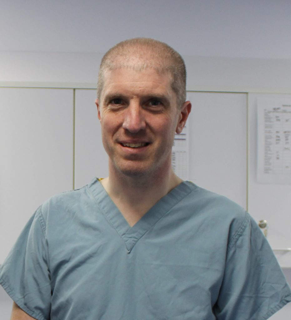 Ed Friend, European and RCVS Recognised Specialist in Small Animal Surgery
